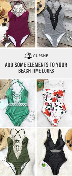 This summer is gonna be so lit!  Give you free&love&passion spirits. You will want to bring one for next beach trip. Relax yourself in the soft & chic swimsuit on the beach.Take it now at Cupshe.com! Shop Now.