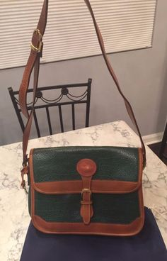 Dooney & Bourke MINT! Vtg All Weather Leather Shoulder Tote Crossbody Bag Purse #DooneyBourke #ShoulderBag BEAUTIFUL!!! SALE!!! $95 or BEST OFFER!!!