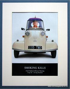 Messerschmitt Car Silk Cut Cigarette Advert Smoking Kills, Smoke, Car, Automobile, Vehicles, Smoking, Cars, Autos, Acting