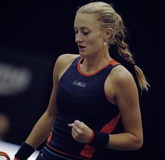 Kristina Mladenovic Athletic Tank Tops, Sporty, Bra, Tennis, Instagram, Women, Style, Fashion, Swag