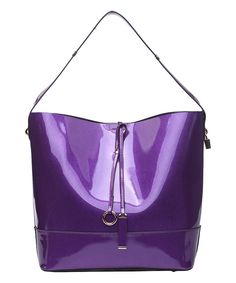 Another great find on #zulily! Pink Haley Purple Amelia Drawstring Tote by Pink Haley #zulilyfinds