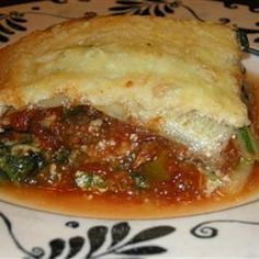 Zucchini Lasagne @ allrecipes.com.au