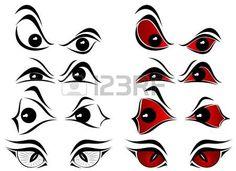 scary bloodshot eyes cartoon images pictures nearpics rh pinterest com spooky cartoon eyes scary cartoon monster eyes
