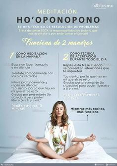 Hábitos Health Coaching | 2 FORMAS DE MEDITACIÓN HO´OPONOPONO
