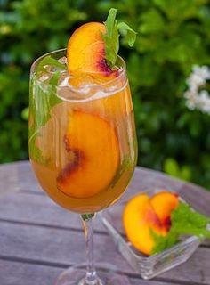 The Pink Peach - Pinot Grigio + Peach Juice