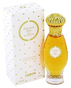 Narcisse Noir by Caron is a white and yellow Floriental fragrance with orange blossom and narcissus in the top. Jasmine, orange and rose in the middle. Vetiver, musk and sandalwood in the base. - Fragrantica
