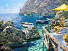 Cafe Capri by Howard Behrens