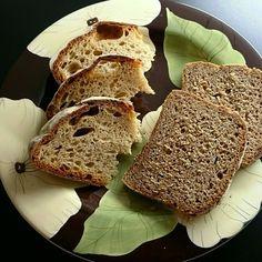 «Saturday breakfast with #Poilane and rye #bread»