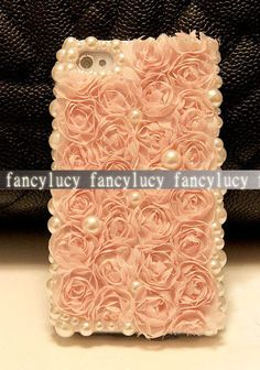 iphone 5 case  iPhone 5 cover  Pearl by iPhoneCasesFancylucy, $13.98 Need your iphone at your wedding? Got you covered ;]