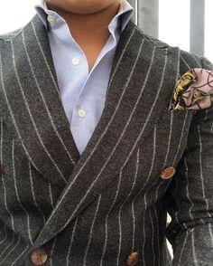 sartorialmasterpiece:  Last days of flannels.