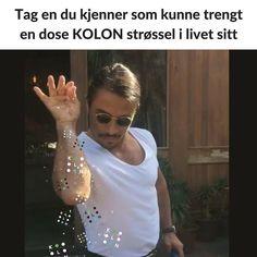 Tag en du kjenner som kunne trengt en dose KOLON strøssel i livet sitt   #kolonmagi #strøssel #utdanning #bergen #kolonnorge