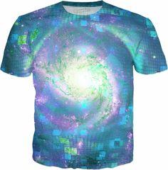 Disco Pinwheel Galaxy | Rave & Festival Shirts