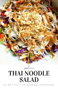 Thai Noodle Salad! I