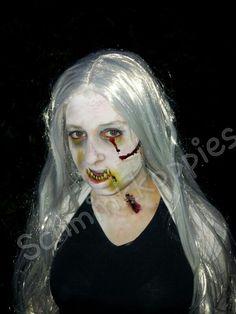 Zombie made by Schminkkoppies