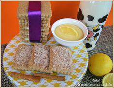 GALLETAS DE CANELA rellenas de crema de limón y chocolate blanco... El dulce de tu niñez