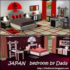 ClioSims3: JAPAN bedroom by Dada