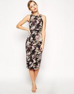Enlarge ASOS Blossom Print Crop Top Dress