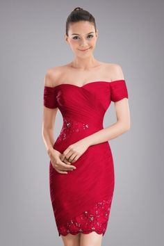 highfalutin-sheath-offtheshoulder-cocktail-dress-with-beaded-appliques