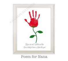 Mothers Day Gifts Diy Discover Gift for Grandma Grandmas Birthday Gift Personalized Handprint Kids gift to a Grandma Mothers Day gift Valentine Crafts For Kids, Mothers Day Crafts For Kids, Fathers Day Crafts, Mothers Day Cards, Gifts For Kids, Grandparents Day Crafts, Homemade Valentines, Happy Mothers, Kids Crafts