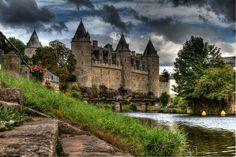 Chateau de Josselin (a.k.a. Rohan Castle), Josselin, Britanny - France.