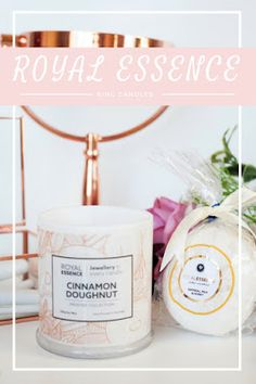 Royal Essence Candle and Bath Bomb + Ring Reveals