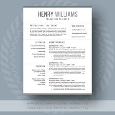 Best Resume Format For It Professional Fair Resume Template Cv Template Professional Resume Template  Resumes .