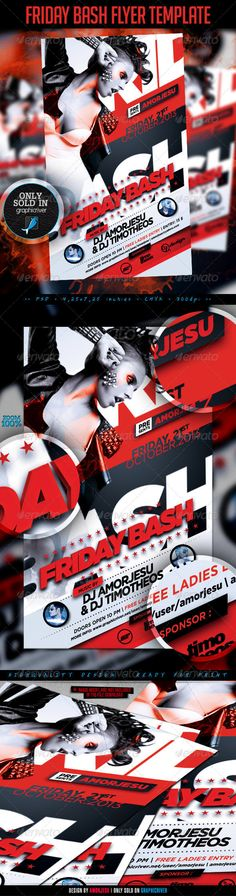 Friday Bash Flyer Template