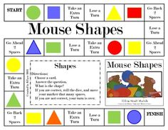 A fun way to practice identifying plane shapes. In this game, students practice plane shapes. The math game can be used for math stations/centers, . Teaching Shapes, Teaching Math, Maths, Math Classroom, Kindergarten Math, Preschool, Classroom Ideas, Math Stations, Math Centers