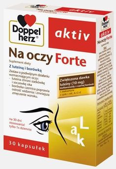 Doppelherz Aktiv On Eyes Forte x 30 capsules