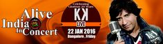 #Bengaluru catch the extremely talented #KK live at Alive India concert, this Friday!  Book tix
