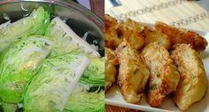 Ezt ki kell próbálnod neked is, rántott fasírt káposztából! Romanian Food, Fresh Rolls, Vegetable Recipes, Kefir, Pesto, Food To Make, Cabbage, Food And Drink, Chicken
