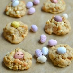Easter egg peanut butter cookies by Baking-Joy