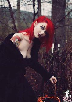 Gothic Girls, Hot Goth Girls, Goth Beauty, Dark Beauty, Dark Punk, Chica Heavy Metal, Estilo Dark, Chica Fantasy, Steam Girl