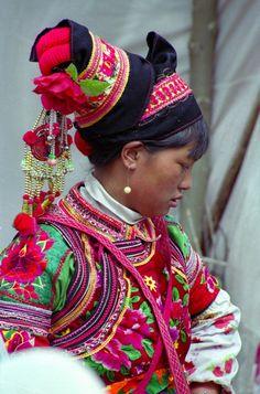 Foto Minderheden in Yunan  , Yunnan Door: JMalefason