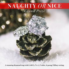 Be sure to get your Naughty or Nice candle or tart for a chance to win this ring!  There will be hundreds of prizes awarded.  Bonus Prizes you could win (awarded on January 3, 2017)    iPads and Android Tablets Xbox One Gaming Consoles Playstation 4 Gaming Consoles Best Buy Gift Cards Target Gift Cards Groupon Gift Cards Toys-R-Us Gift Cards JIC Logo Merchandise