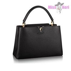 a43f99e2fd9f Сумка Louis Vuitton Capucines BB черного цвета купить, цена, интернет- магазин…