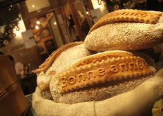 Photo from the legendary artisanal bakery Poilâne (their sourdough loaves are rumored to fetch about $100 in the US)    Paris, France