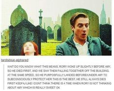 'I love that they had a couple on the show instead of just a companion.' I totally agree. Amy Pond wasn't just the hot in-love-with-the-Doctor companion. She was his family, for a change. and so was rory Rory Williams, 11th Doctor, Hello Sweetie, Amy Pond, Don't Blink, Torchwood, Geronimo, Film Serie, David Tennant