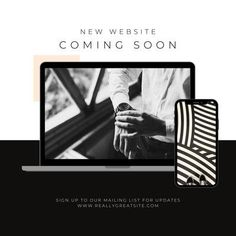 White and black instagram new website coming soon post Coming Soon Sign, Website Coming Soon, Yoga Podcast, New Instagram, Instagram Posts, Design Basics, Instagram Post Template, Branding Your Business, Creative Skills