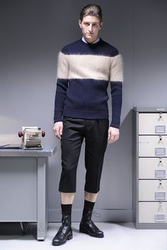 Carven Men's RTW Fall 2013