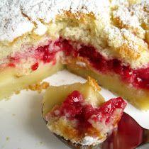 Il était une fois la pâtisserie...: Gâteau magique à la framboise