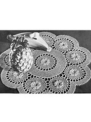 Ravelry: Ring of Roses Doily #S-896 pattern by Coats & Clark
