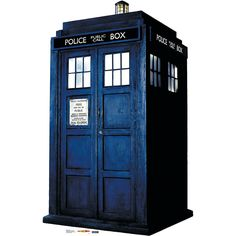 Doctor Who Tardis Stand-Up - OrientalTrading.com