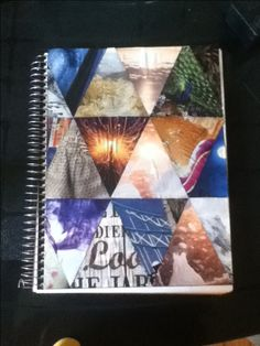 DIY notebook cover... I made this :)