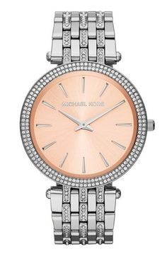 d17f88f5a24 Michael Kors Watch, Women's Darci Glitz Stainless Steel Bracelet - All  Watches - Jewelry & Watches - Macy's wanted by ChicCooltured.