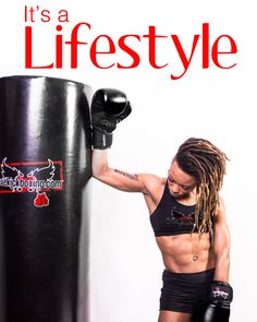 It's more than a workout. It's a lifestyle.  www.ilovekickboxing.com