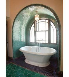 like the green, and the tub!