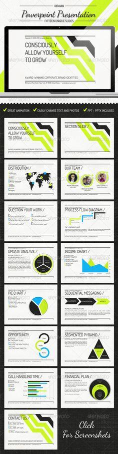 Girvann - Power Point Presentation - GraphicRiver Item for Sale