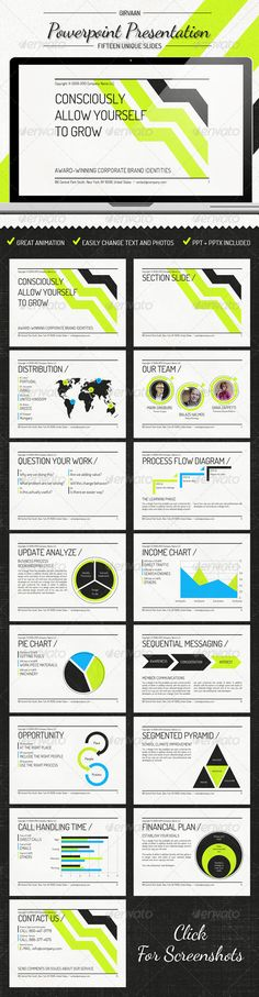 Girvann - Power Point Presentation - GraphicRiver Item for Sale more on http://html5themes.org