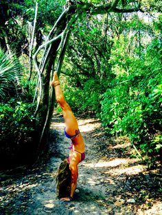 Nature yoga #florida #juno #trees More inspiration at Bed and Breakfast Valencia Mindfulness Retreat : http://www.valenciamindfulnessretreat.org